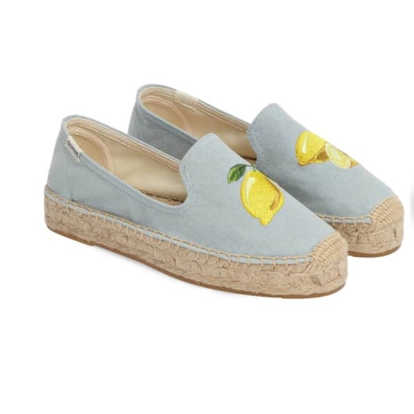 3ca62ffb199 Soludos Lemon Espadrille Flat Loafers 7. M 5c159218e944ba664d44bef0